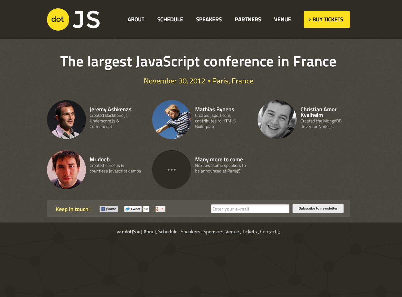 DotJS website